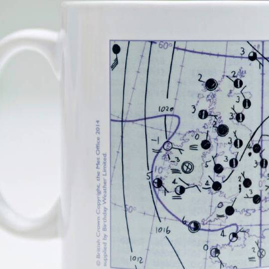 HD Decor Images » personalised weather map panel mug by birthday weather     Classic Style Personalised Weather Map Panel Mug   1970 s