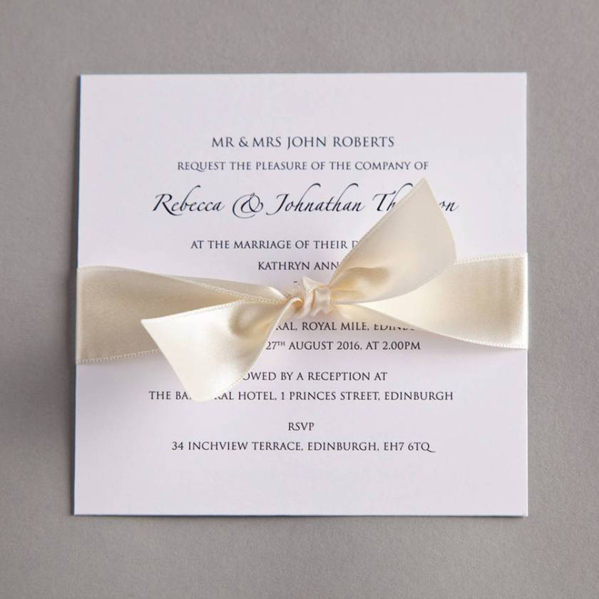 Clic Wedding Invitation