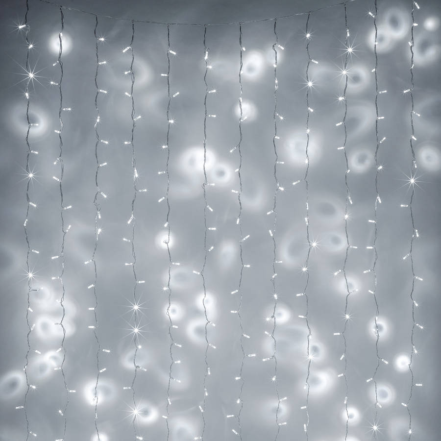 288 Christmas Curtain Fairy Lights By Lights4fun
