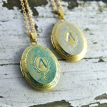 Personalised Stamped Patina Locket Unique And Quirky Gift Ideas Any Odd Person Will Appreciate (Fun Gifts!)