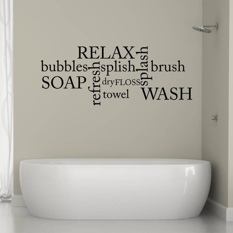 bathroom art print ~ dact