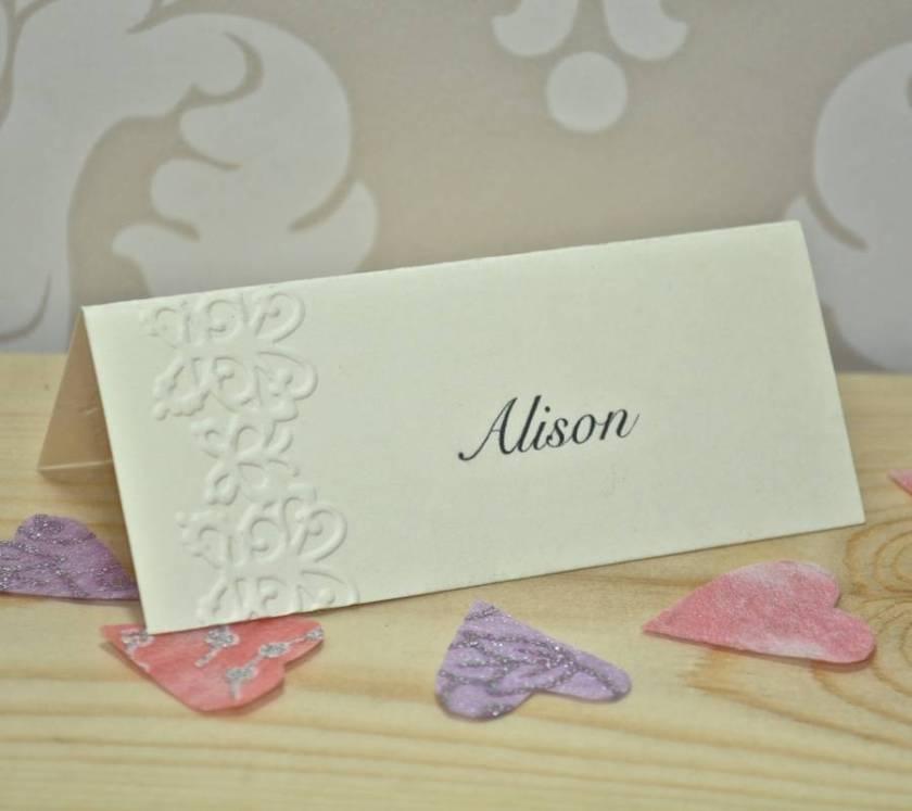Erfly Embossed Wedding Invitations