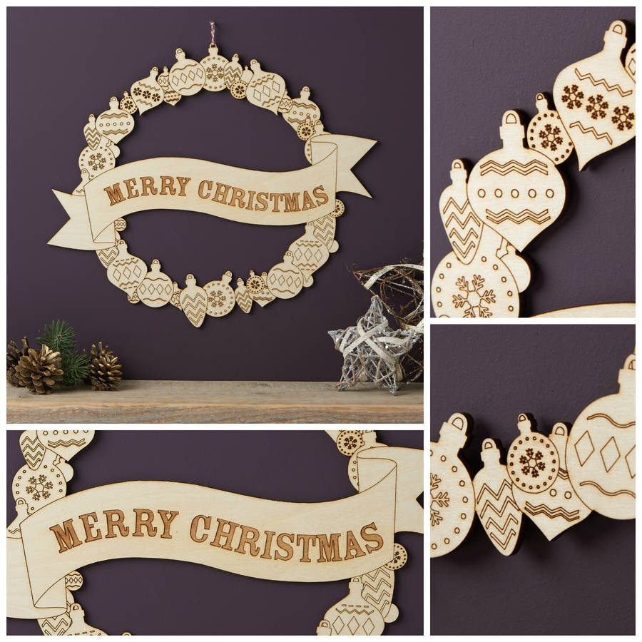 Wreaths And Christmas Burgundy Gold Black