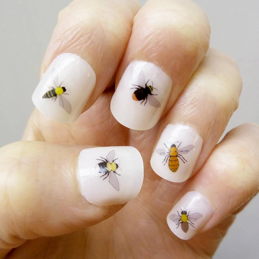 Bee Nail Art Transfers