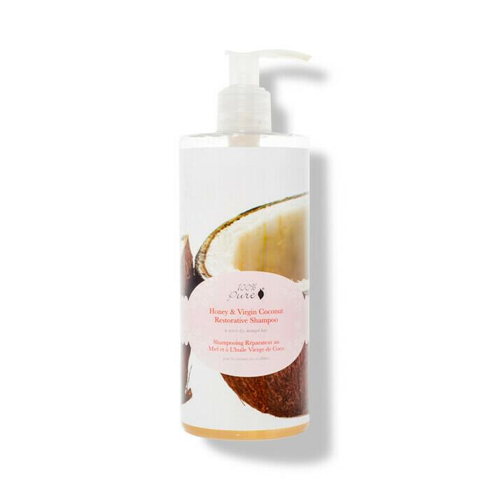 100 Pure Honey Amp Virgin Coconut Restorative Shampoo