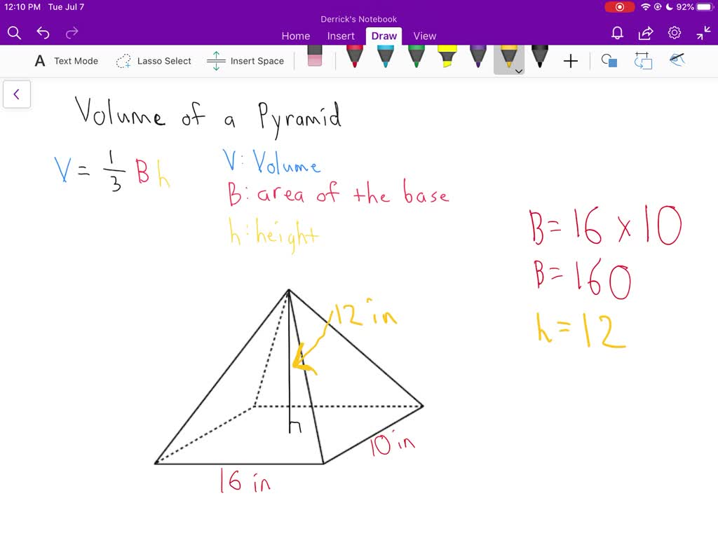 Find The Volume Of Each Pyramid Or Cone Round To