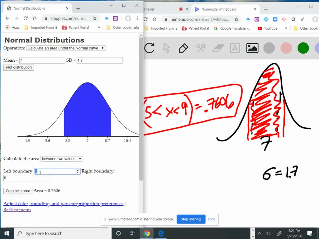 Access The Applet Normal Approximation To Binomia