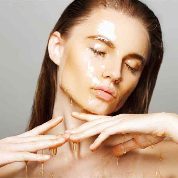 Honey makes an effective one-ingredient face mask.