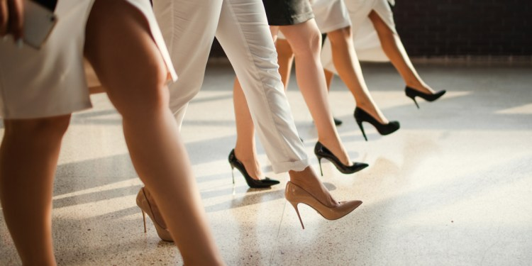 sexism in the workplace heels