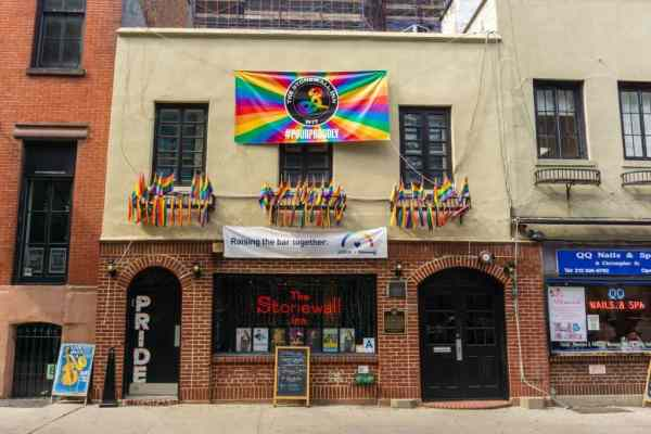 Stonewall Inn is the site of gay liberation
