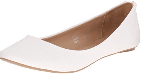 call it spring white flats