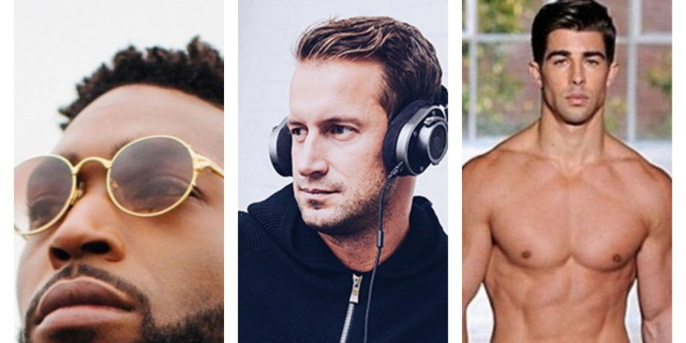 Check out these hot guys on social media