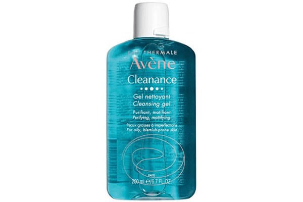 Use Avene Cleanance Soap Less Gel Cleanser for a clear skin.