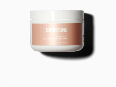 overtone hair colors rose gold