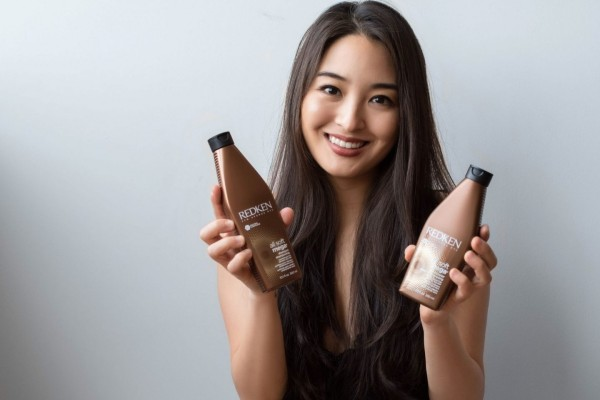 Grab a bottle of Redken shampoo according to your hair type!