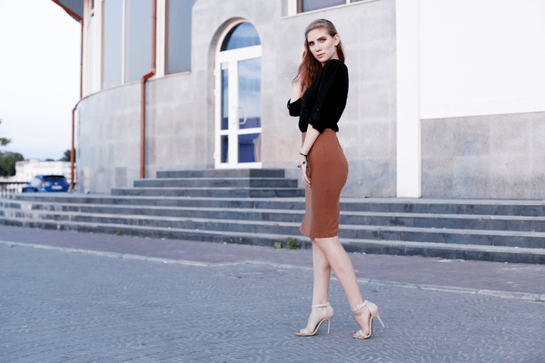 girls night out pencil skirt