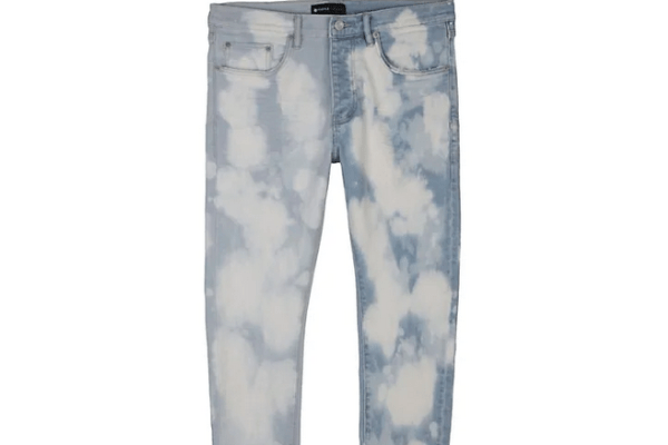 bleached purple brand jeans