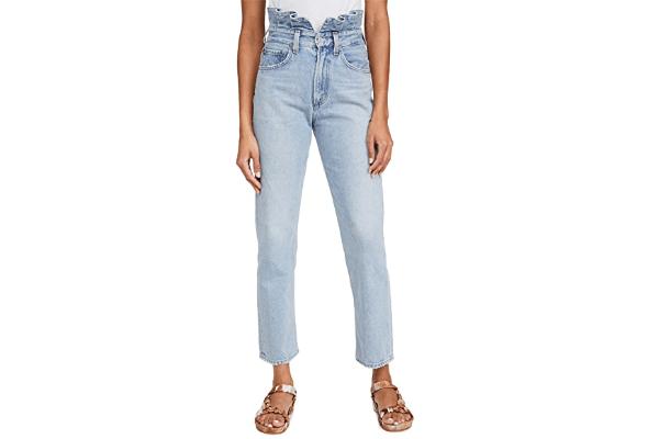 Agolde jeans lettuce waistband