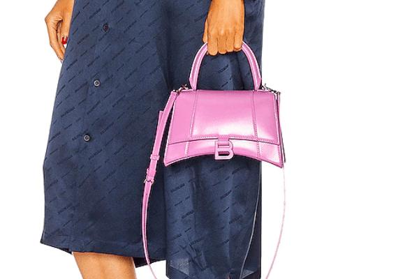 Balenciaga bags purple