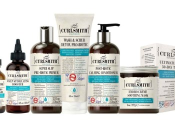 Curlsmith haircare products