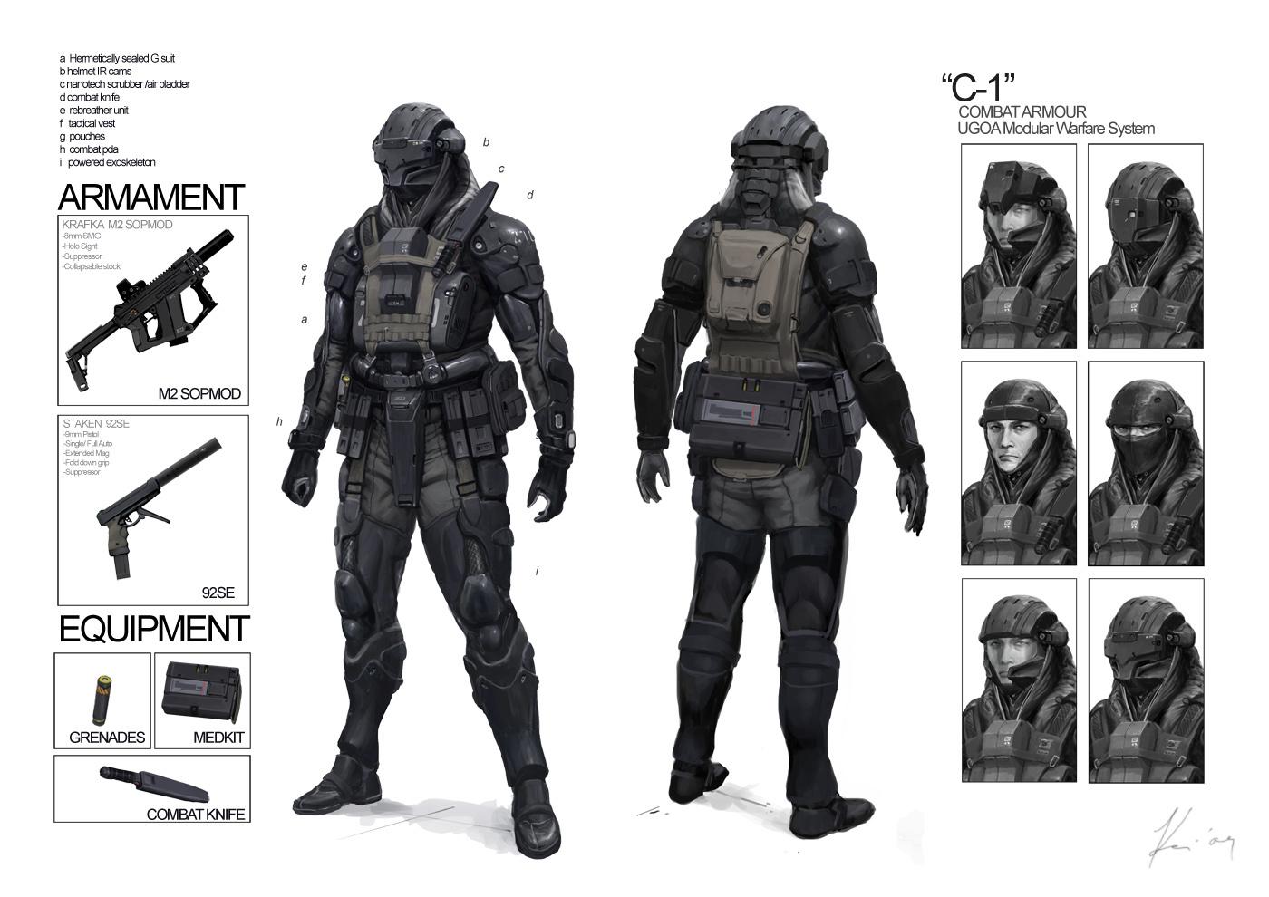 C 1 Combat Armor