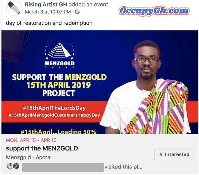 menzgold day of redemption