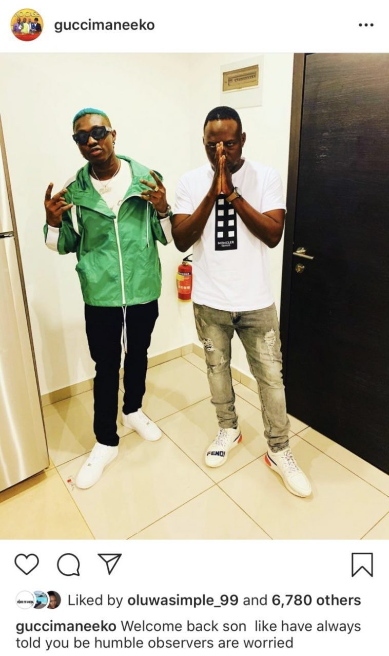 Zlatan Ibile released from KFCC