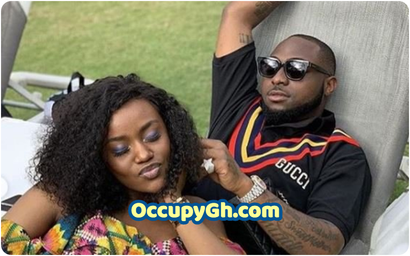 Pregnant Davido's Girlfriend Chioma Shopping for Baby Clothes