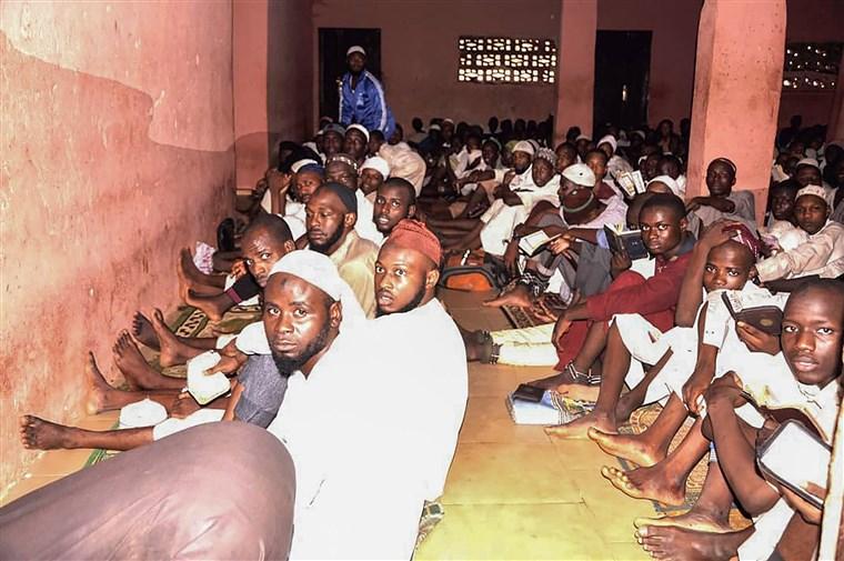 Chained Men Nigeria