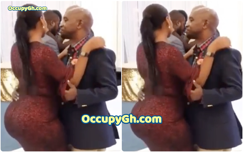 Video Of A Lucky Guy Dancing With A Super Endowed Lady Goes Viral