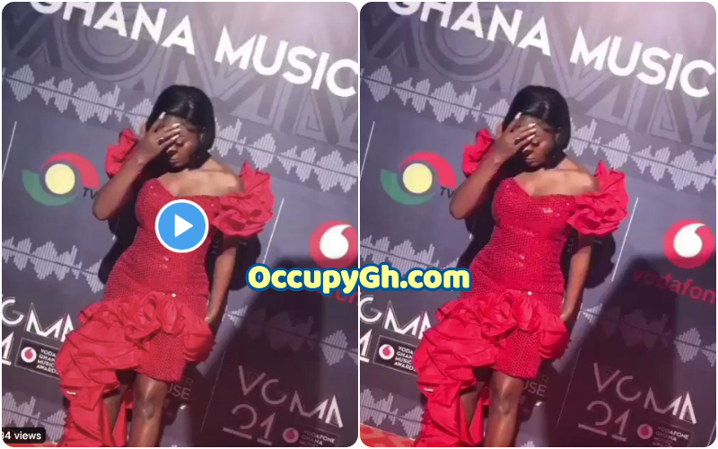 Video Efya Slays At The Red Carpet Of The 21st Vgma 2020 Occupygh
