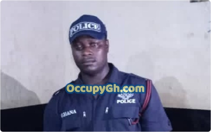 fake police officer arrested kejetia