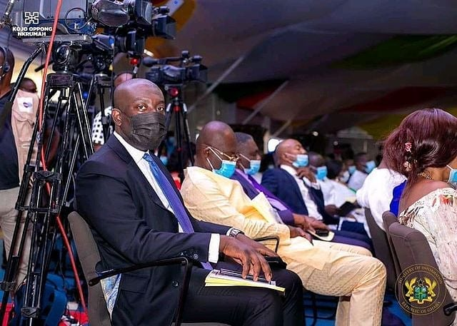 kennedy agyapong sleeping parliament