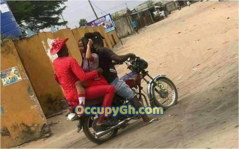 Couple Caught Doing On Okada Bike