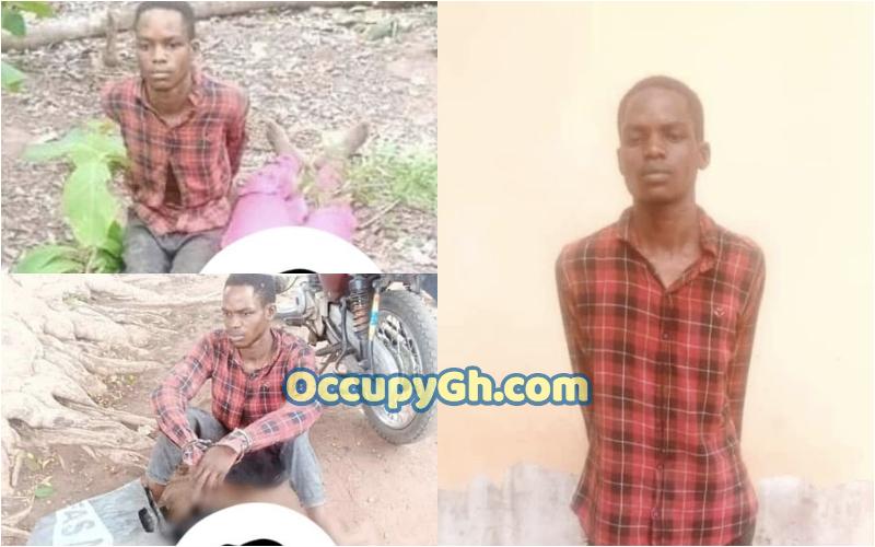 Suspected Ritualist Arrested Human Head