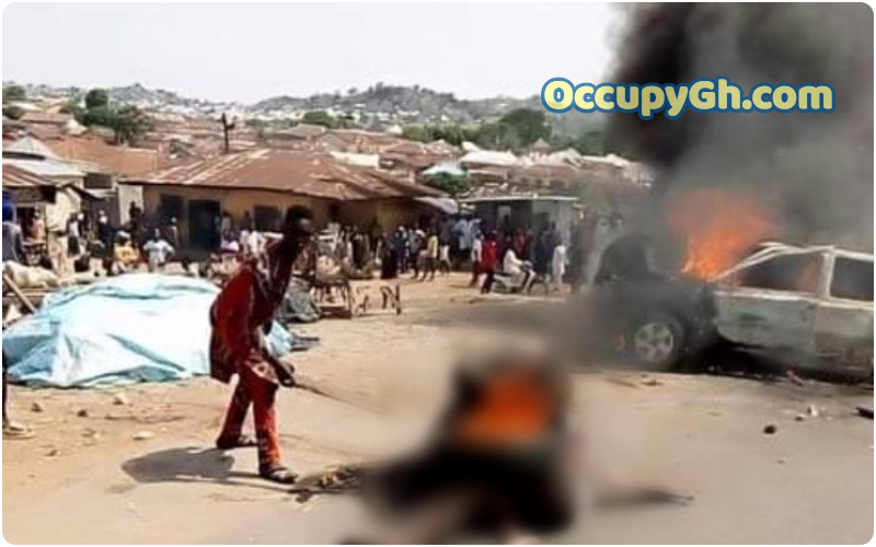 Kidnappers Set On Fire