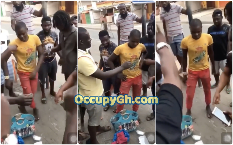 Man Forced Drink Poisonous Alcohol Selling