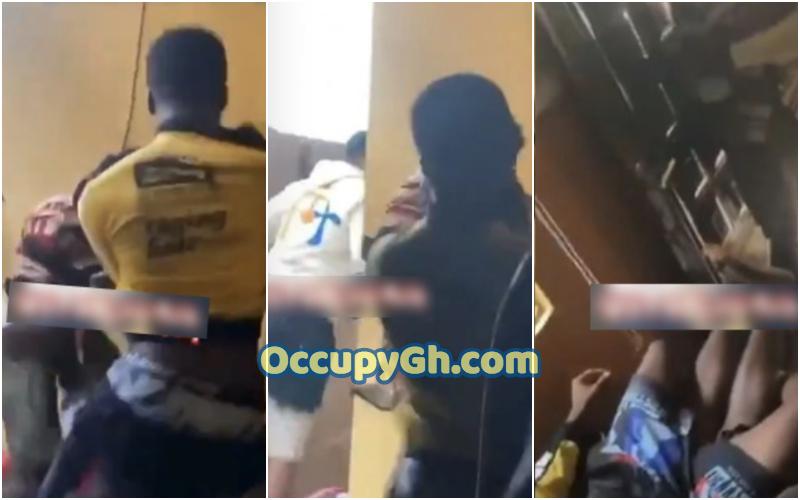 man fights friend sleeping girlfriend