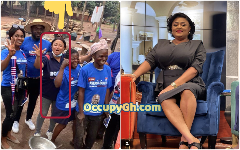 matild asare Campaigning npp foot-soldier