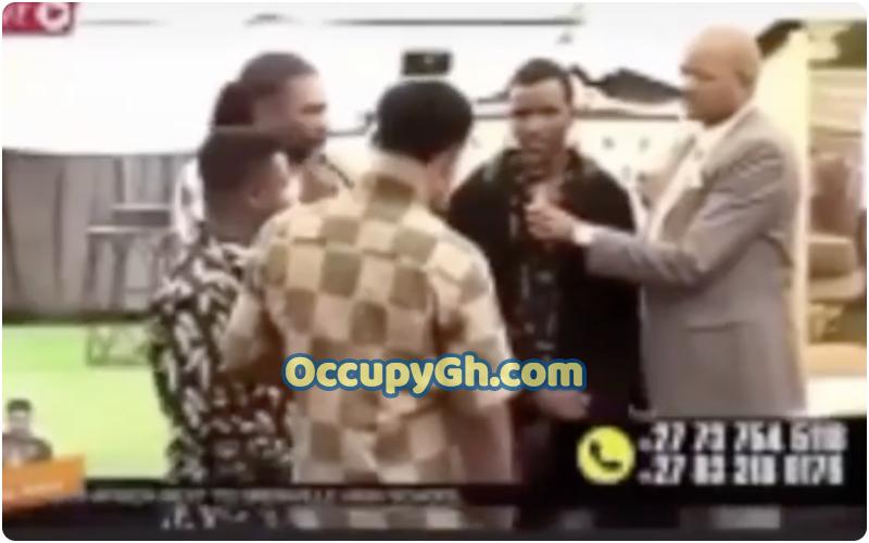 pastor slaps church member