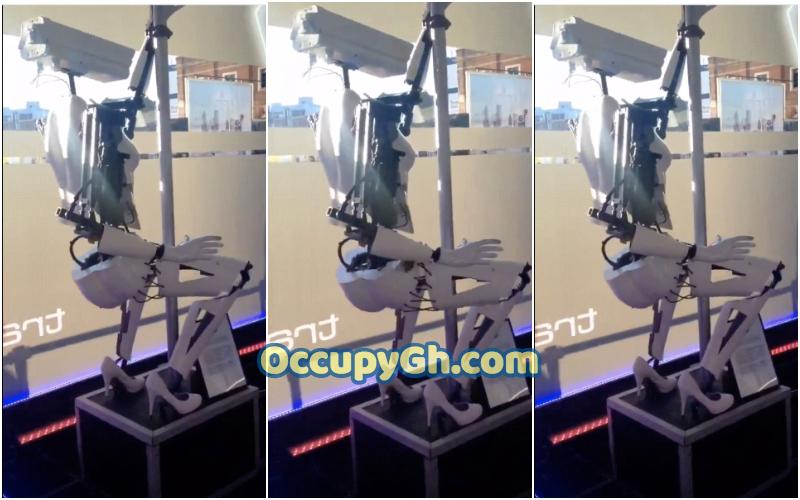 twerking robot