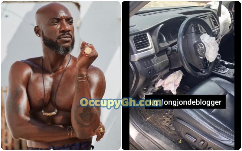 Kwabena Kwabena involved in accident