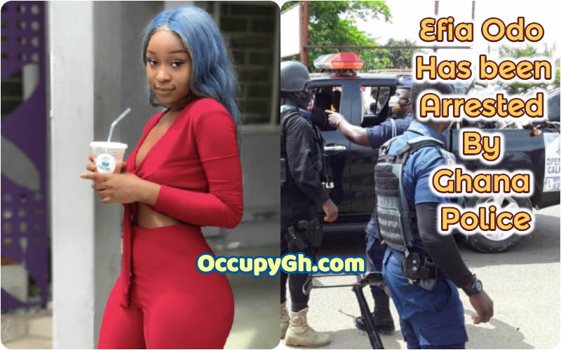 efia odo arrested