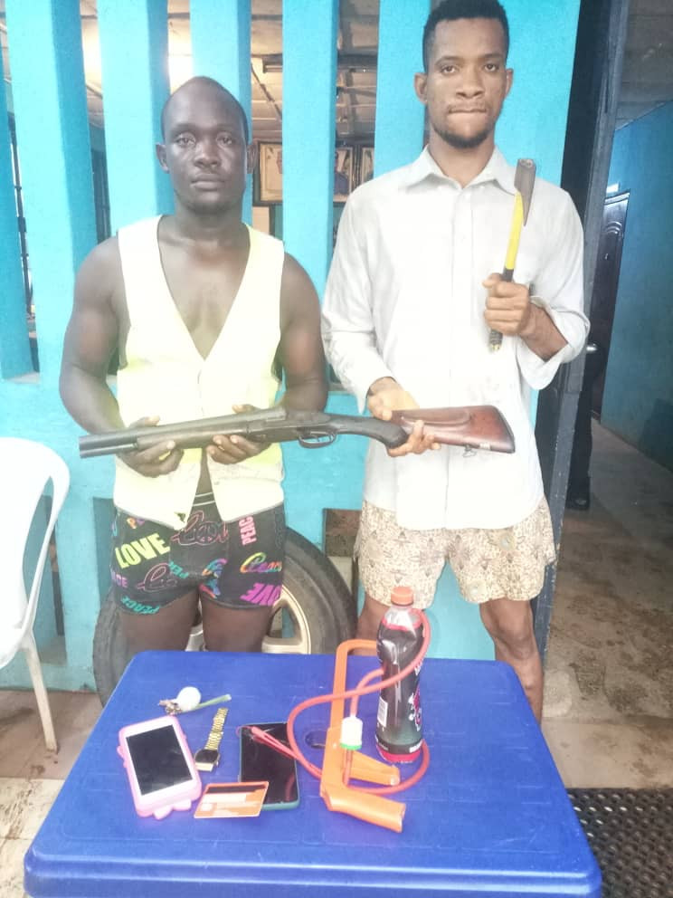 Two University Students Arrested For Alleged Armed Robbery
