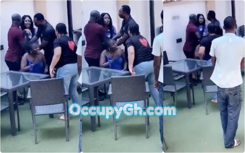 Woman Beats Husband Side-Chick Catching Hotel