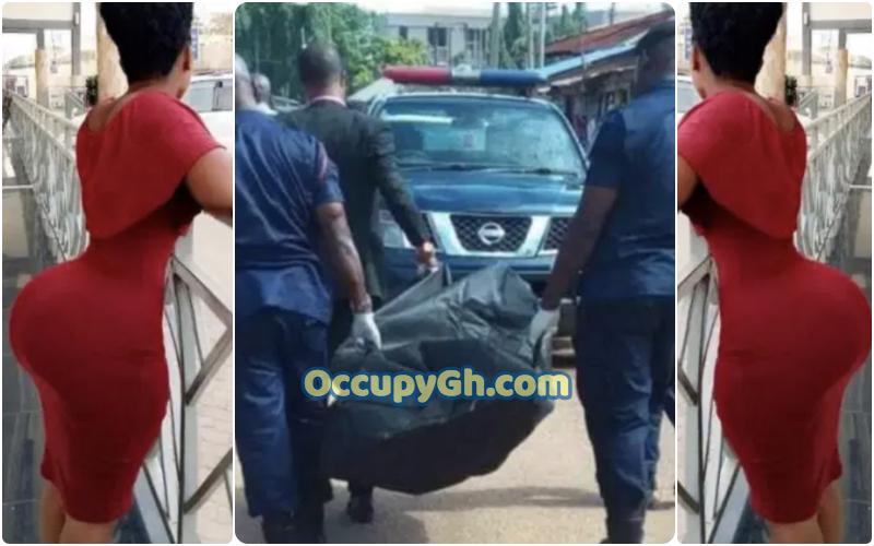 man died on top of salesgirl