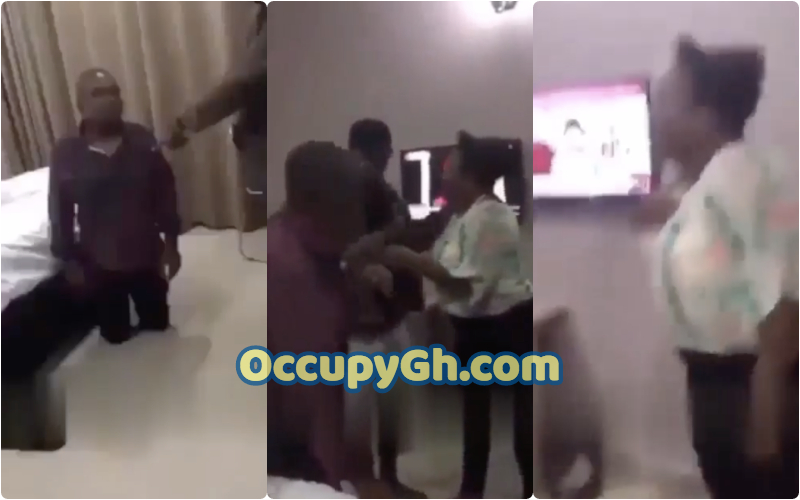 man caught wife cheating hotel
