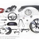 Airbag Unit For Sport Steering Wheel 6z3880201a Oemvwshop Com
