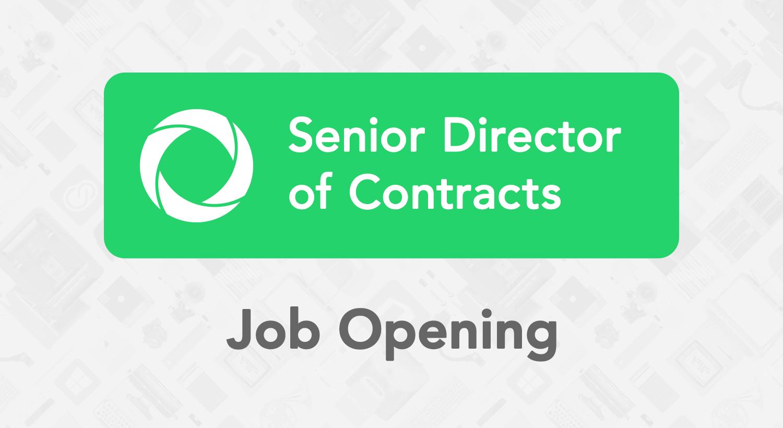 Senior Director Of Contracts U2013 EdTech Job Opening