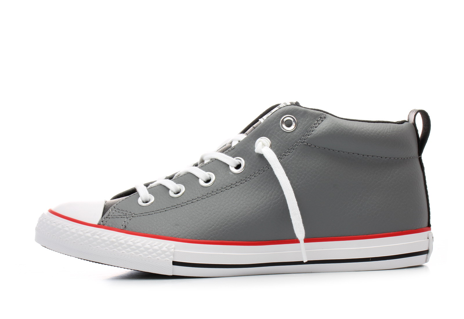 Sneakers Top All Green Static Converse And Mid Men Star Black